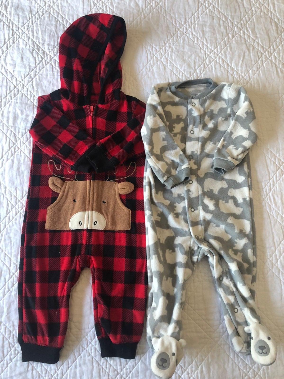 Baby Boys Fleece Outfit Bundle