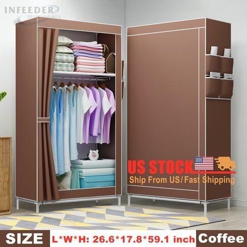 Folding Portable Wardrobe Bedroom