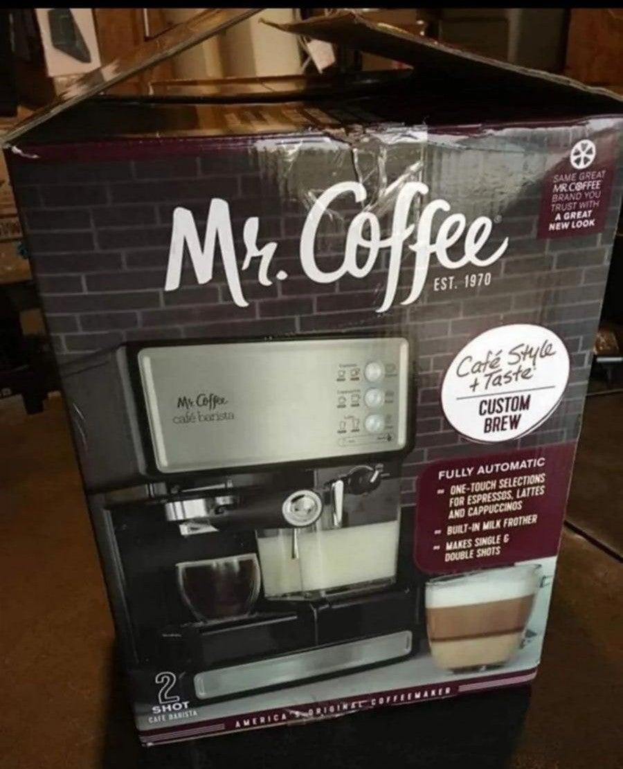EUC MrCoffee Espresso & Cappuccino Maker