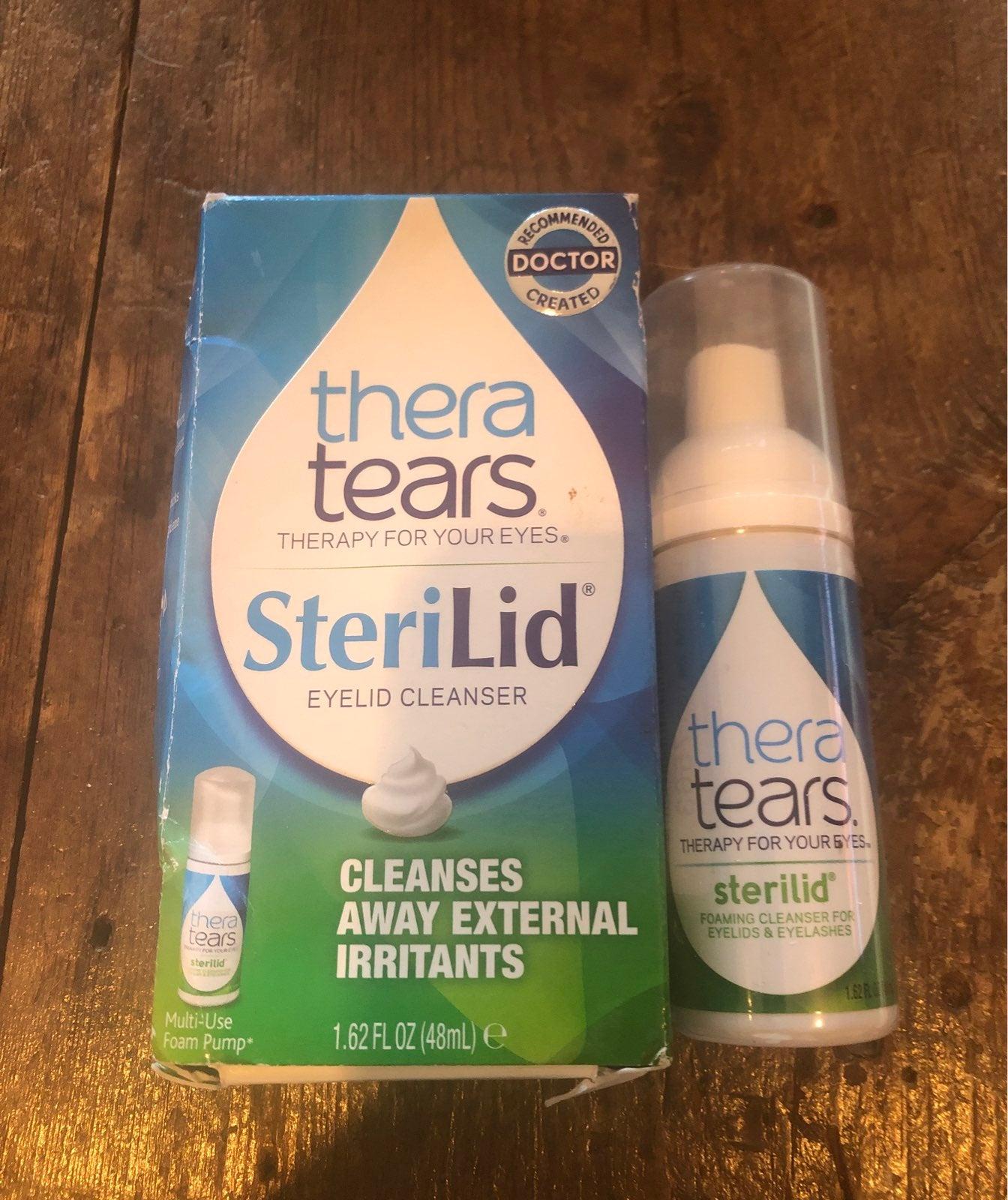 Thera Tears SteriLid Foaming Eyelid Clea