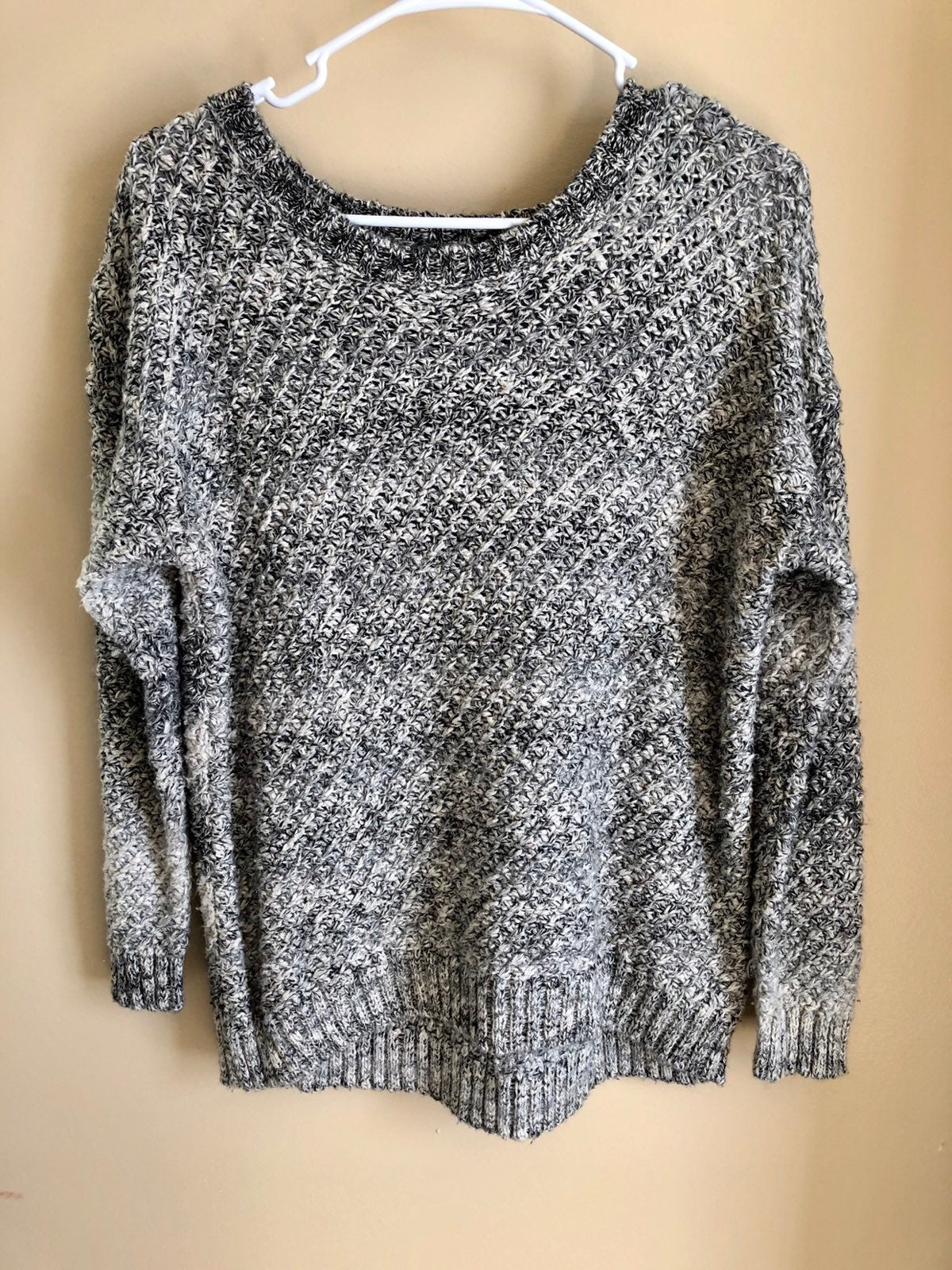 Shades of Gray Sweater