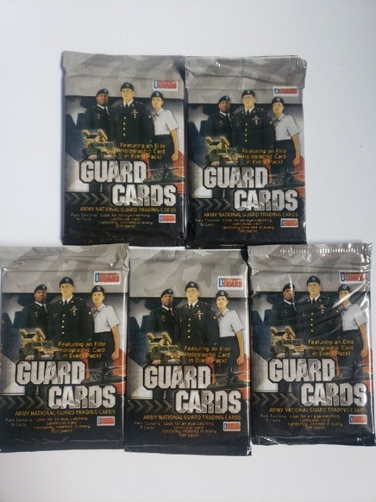 NEW Set of 5 Army National Guard TCG
