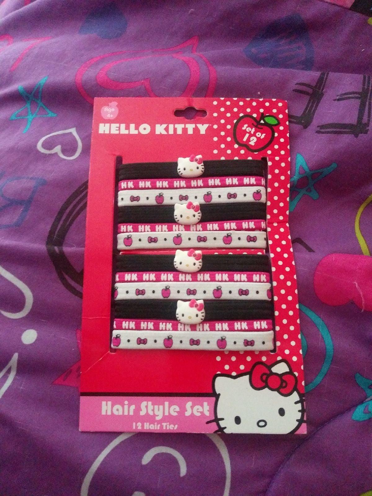 Hello Kitty Hair Style Set