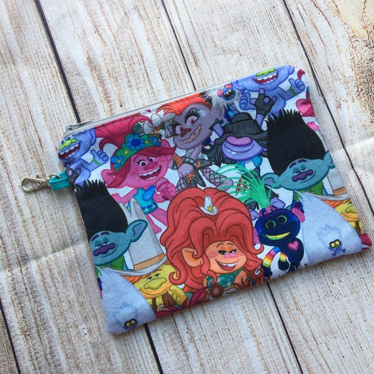Trolls Zipper Pouch - great for face mas