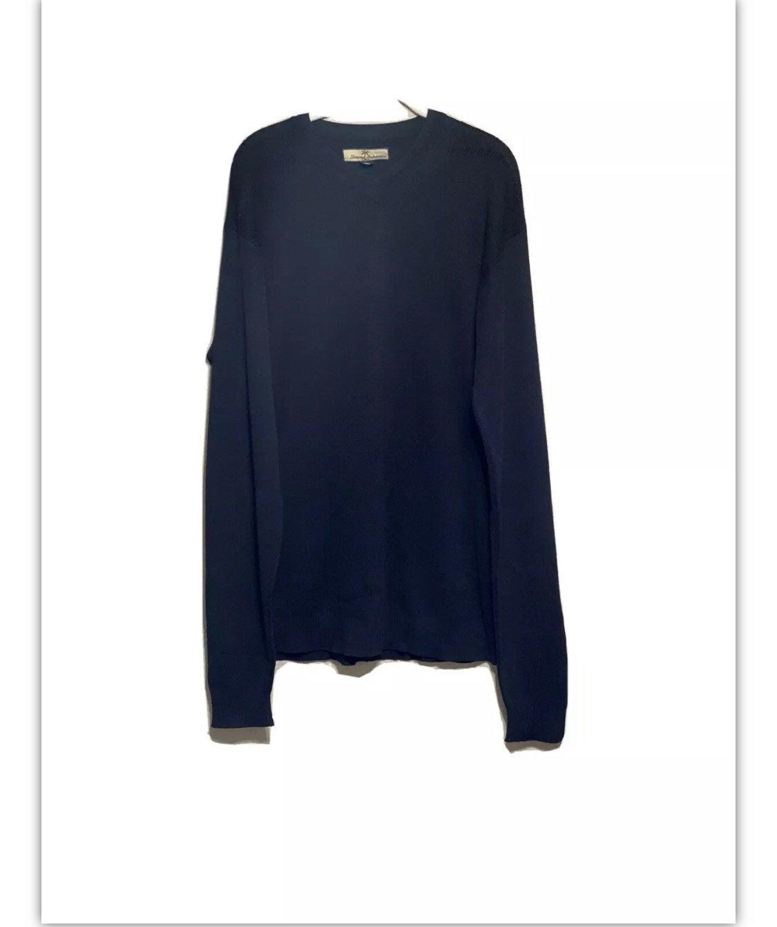 Tommy Bahama Black V-Neck Sweater