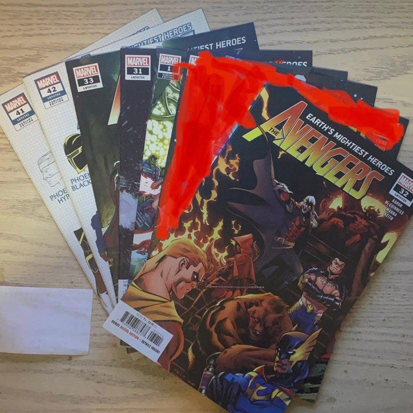 Marvel Avengers Comic Lot Bundle