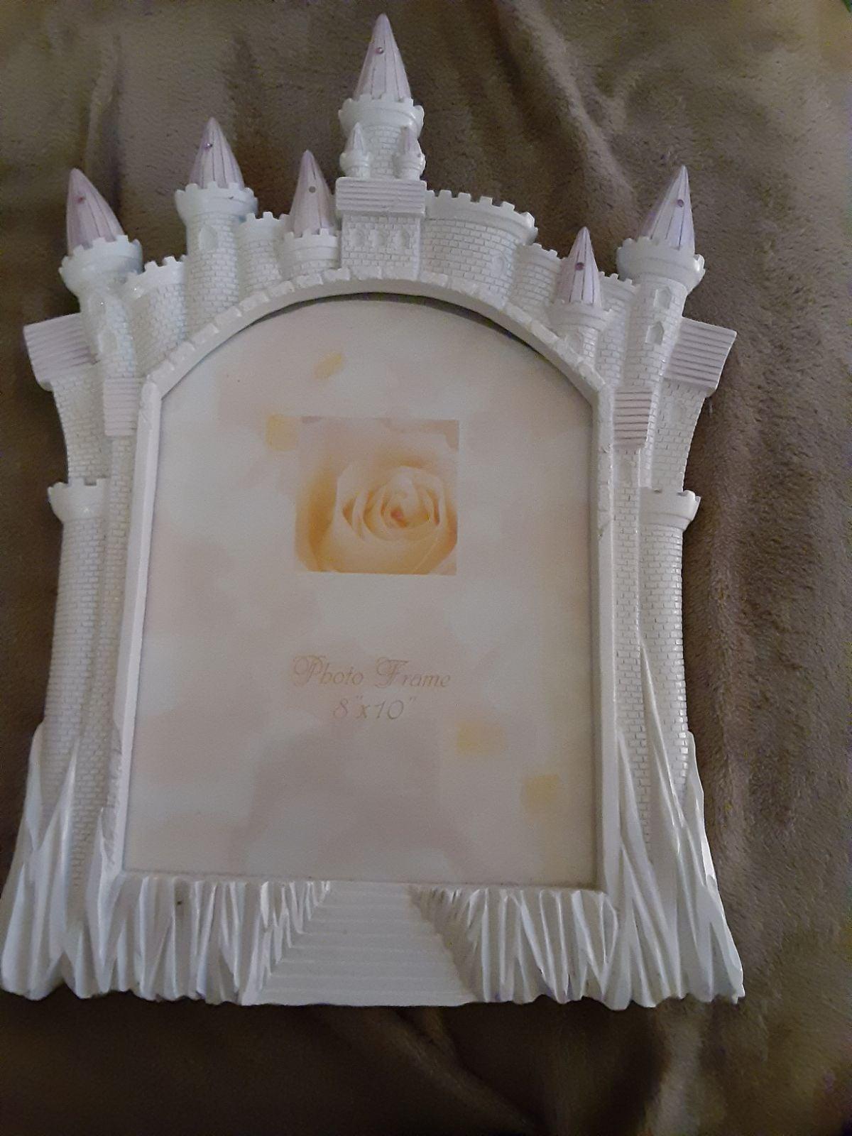 Cinderella's castle picture frame