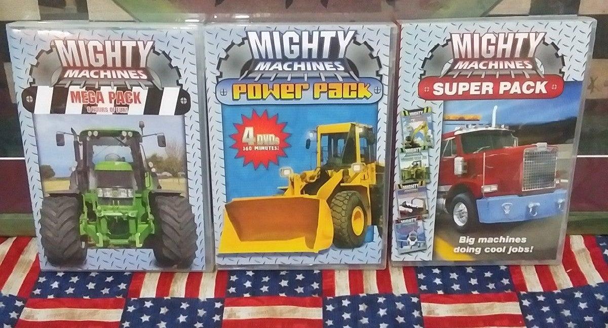 Mighty Machine DVDs
