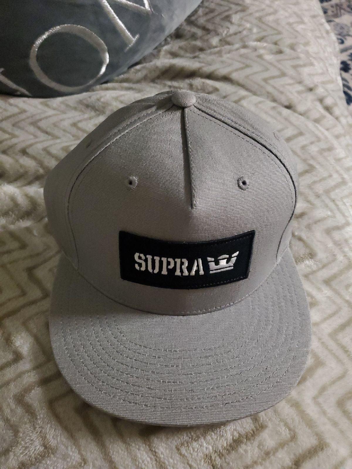 Supra adjustable snapback Hat
