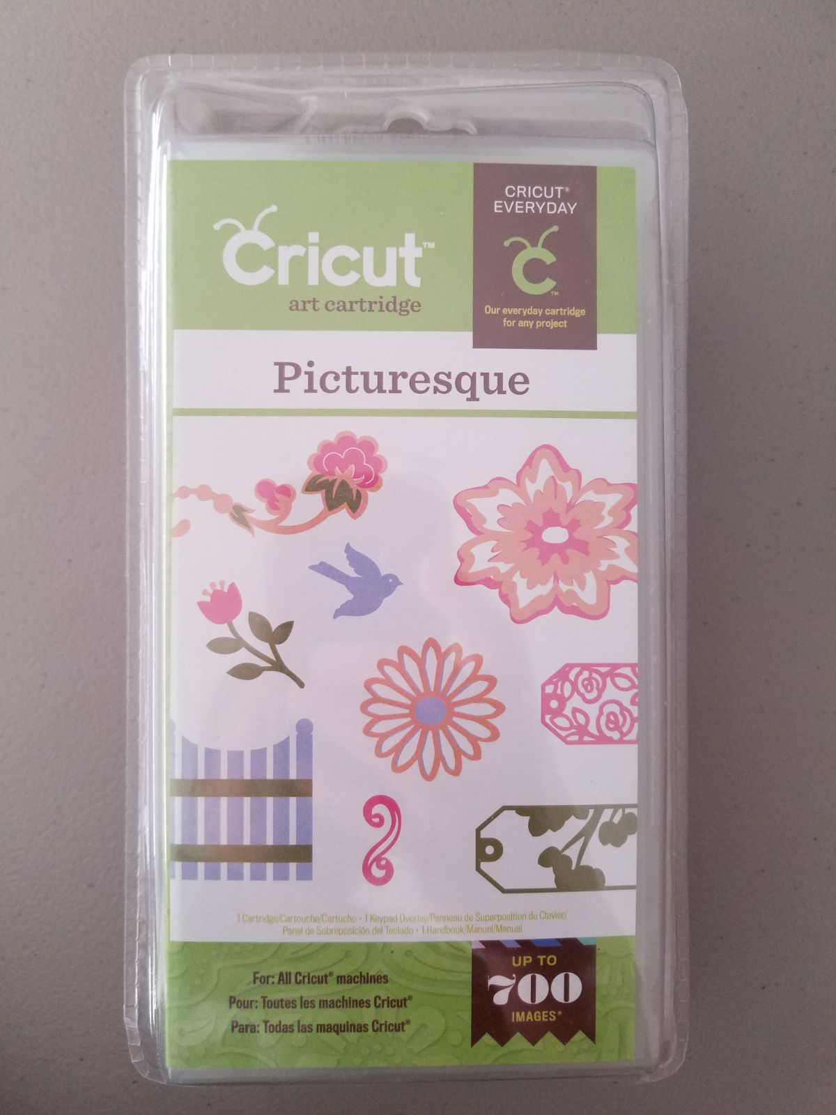 Cricut Cartridge Picturesque NEW AND SEA