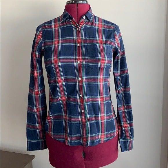 Flannel Pattern Shirt