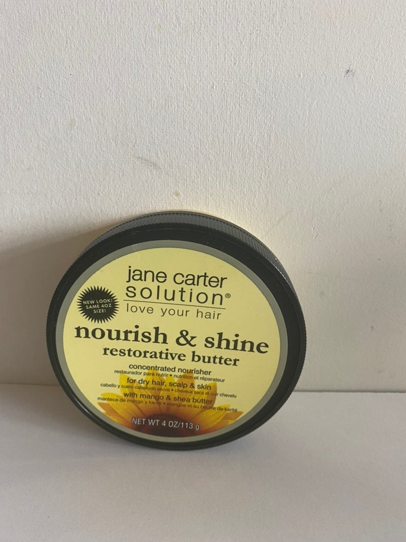 Jane Carter Nourish & Shine, 4 oz cream