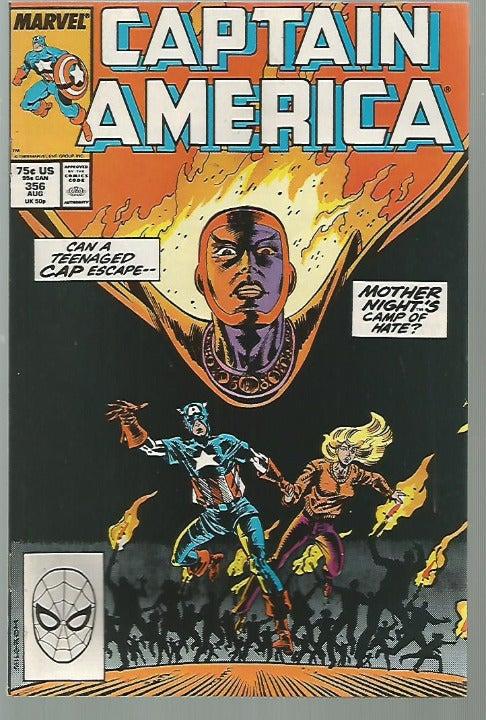 Captain America #356 High Grade