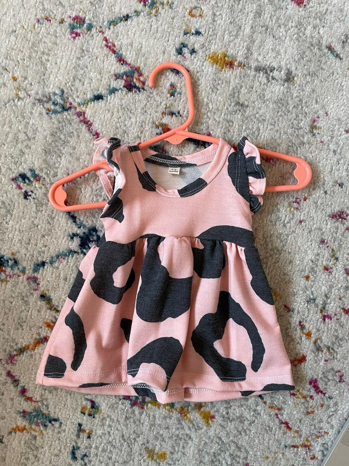 Leopard Boutique Baby Girl Dress