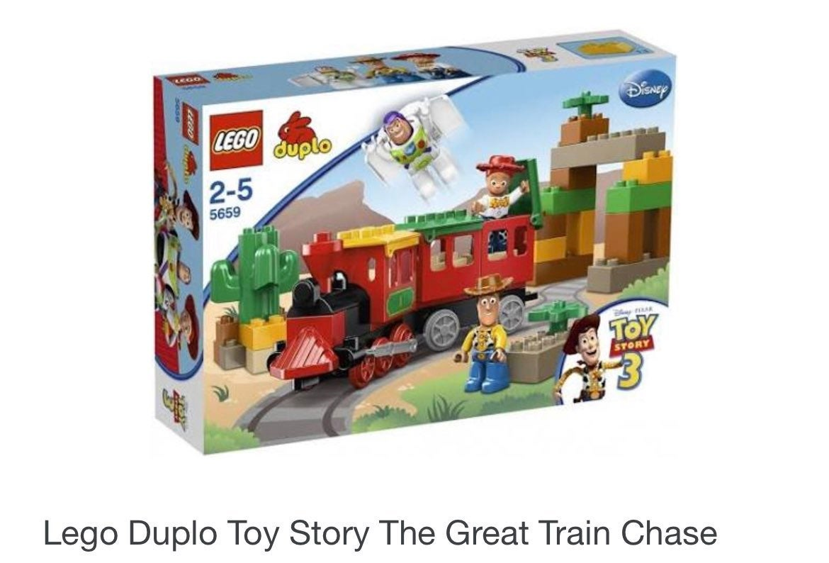 Lego duplo disney toy story 3 train set