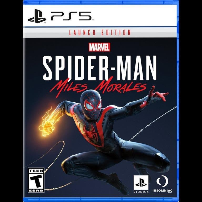 PS5 Spiderman Miles Morales New