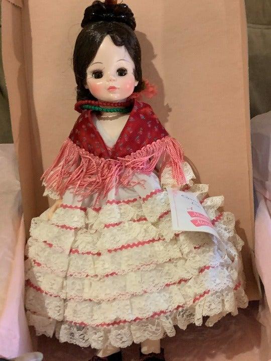"Madame Alexander - Carmen Doll, 14"""