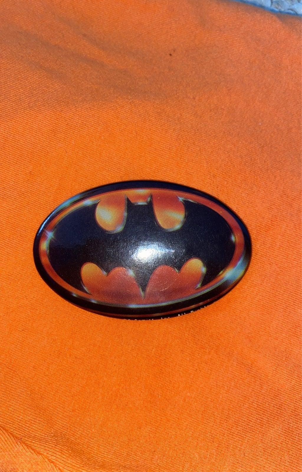 1989 Batman Pin