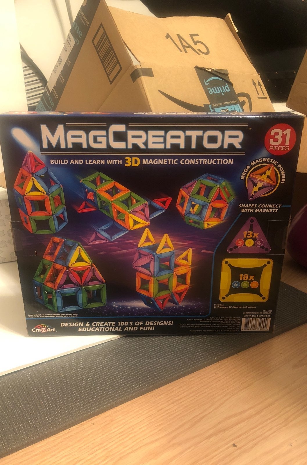 New MagCreator Magnetic Construction