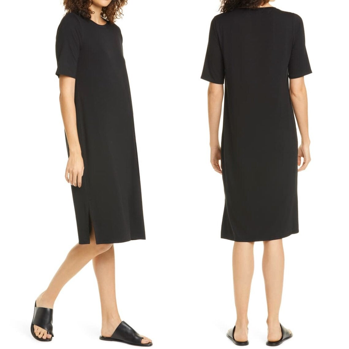Eileen Fisher | Lyocell T-Shirt Dress