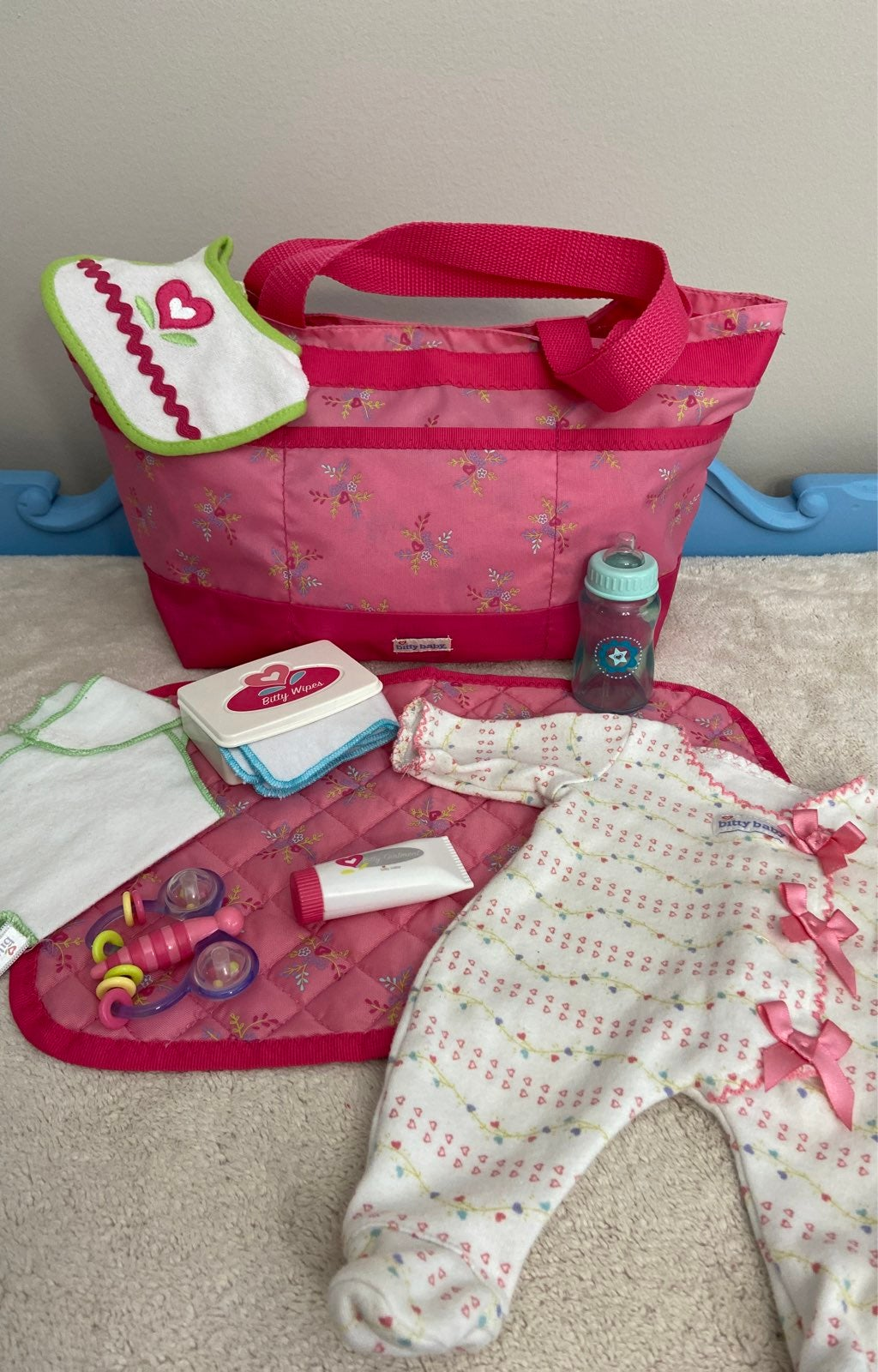 AG Bitty Baby's Diaper Tote Plus