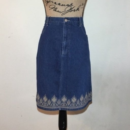 Crossroads Denim Skirt