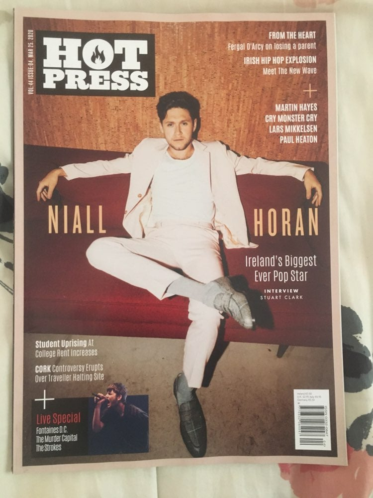 Niall Horan Hot Press Magazine