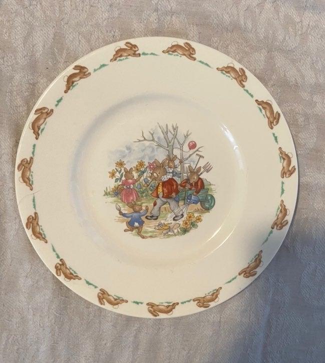 Bunnykins Child's Dinner Plate