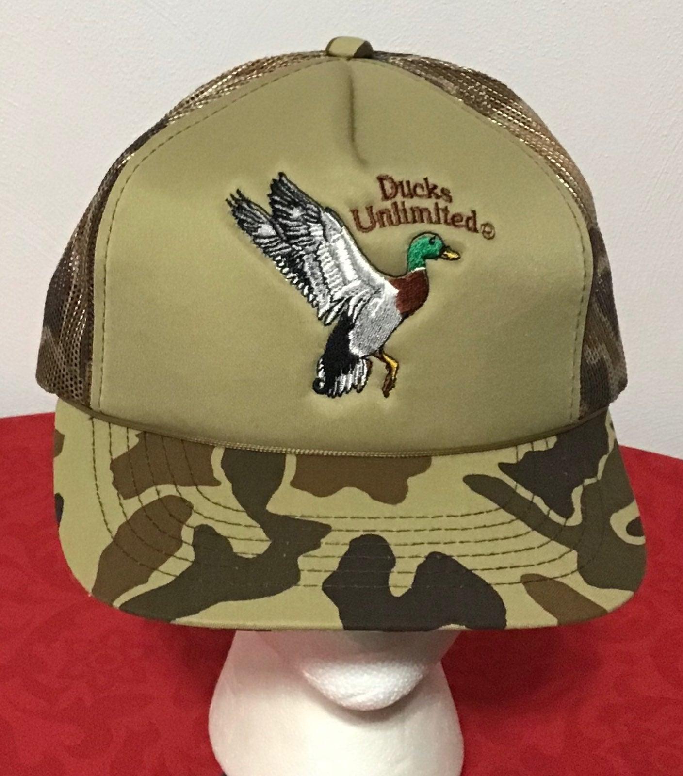 Ducks Unlimited Hat Camo Snapback Cap