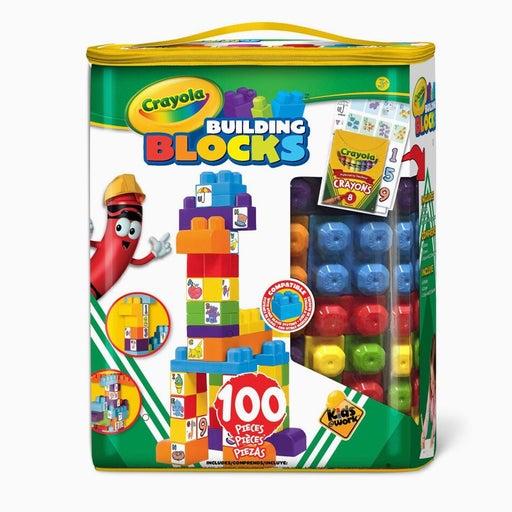 100 piece Crayola building blocks