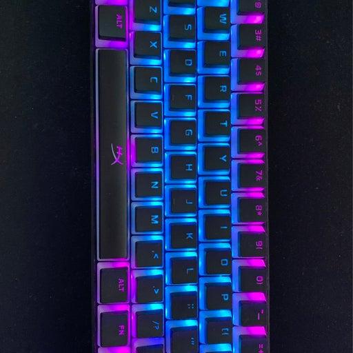 Custom keyboard with double shot hyperx