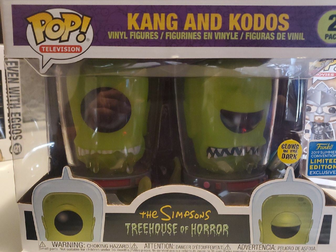 Kang And Kodos Funko Pop