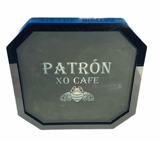 Patron Tequila cafe light up sign tray