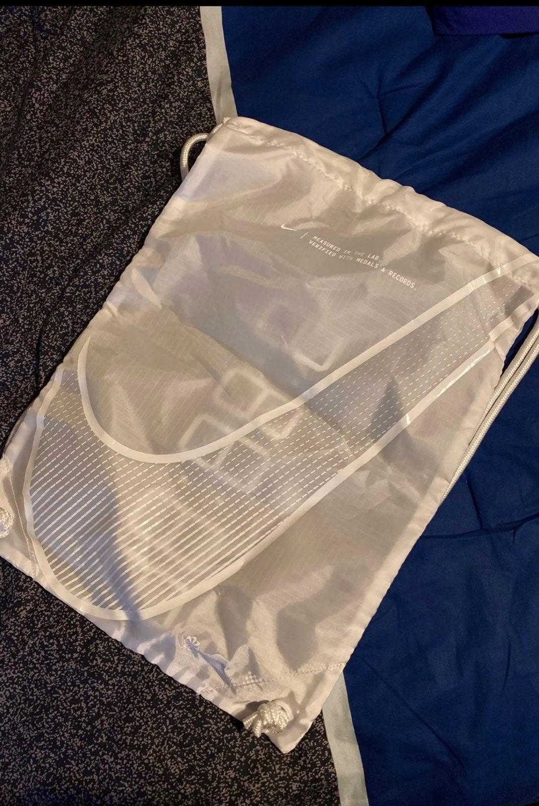 Nike Vaporfly Next % drawstring bag