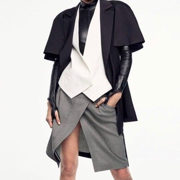 Brunello Cucinelli Wool Cashmere Skirt