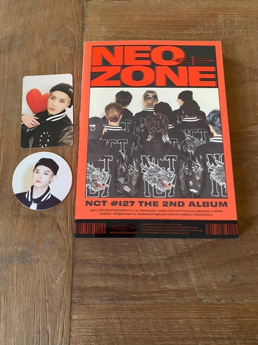 NCT Neo Zone Taeyong Set