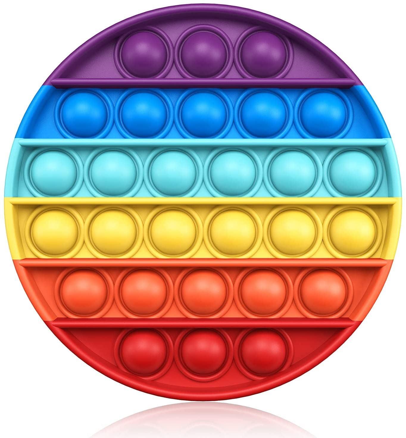 Pop Fidget Rainbow Circle Toy