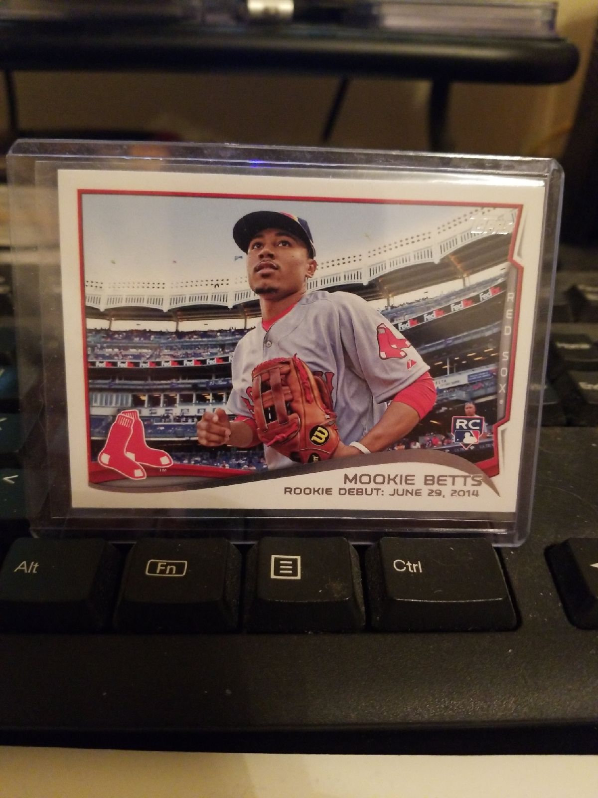 14 Topps update Mookie Betts  rc