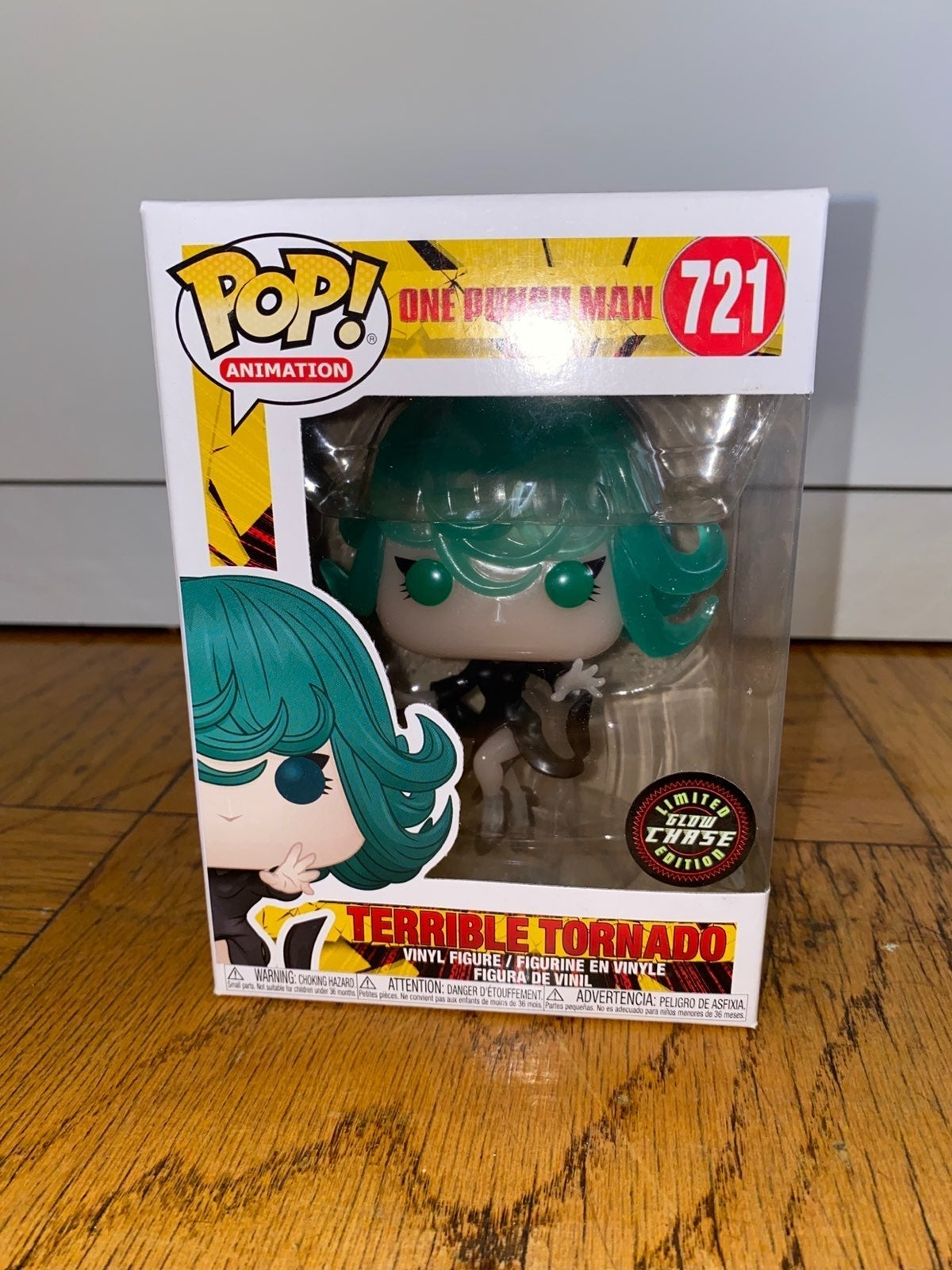 Terrible Tornado Glow Chase Funko pop