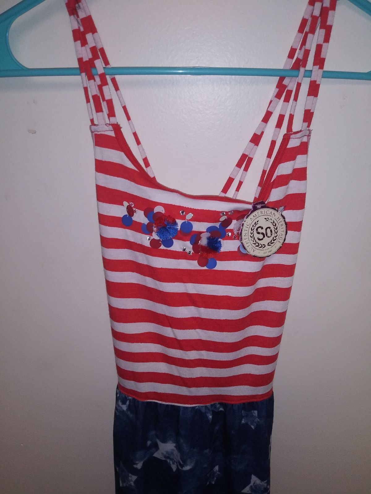 Girls authentic american heritage dress