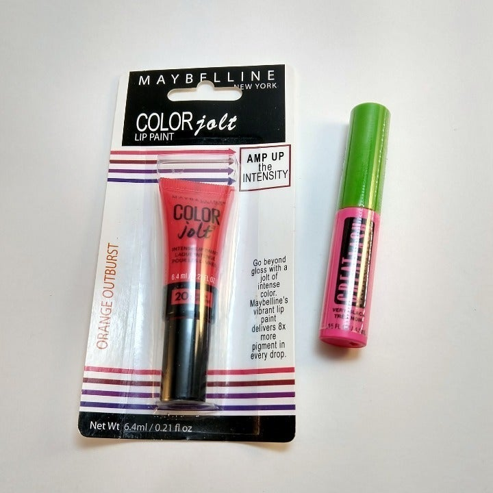 Maybelline Lip Paint Great Lash Mascara