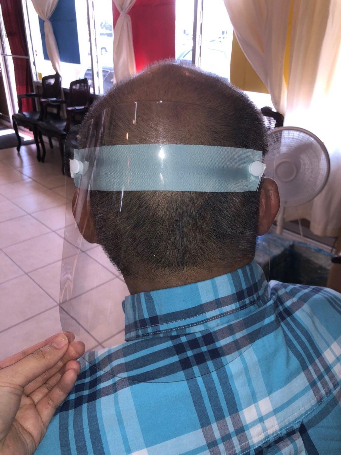 Clear head shield