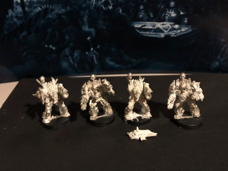 4x chaos space marines OOP Obliterators