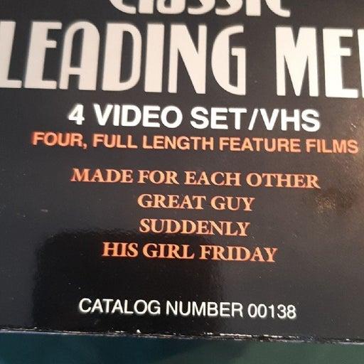 Classic leading men 4 VHS films
