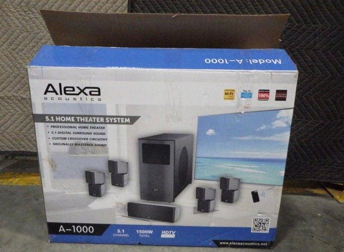 Alexa Acoustics 5.1 Home Theater System