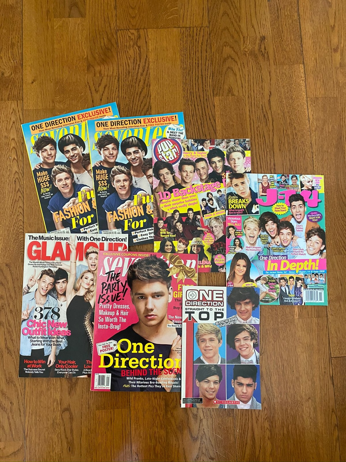 1d one direction magazines