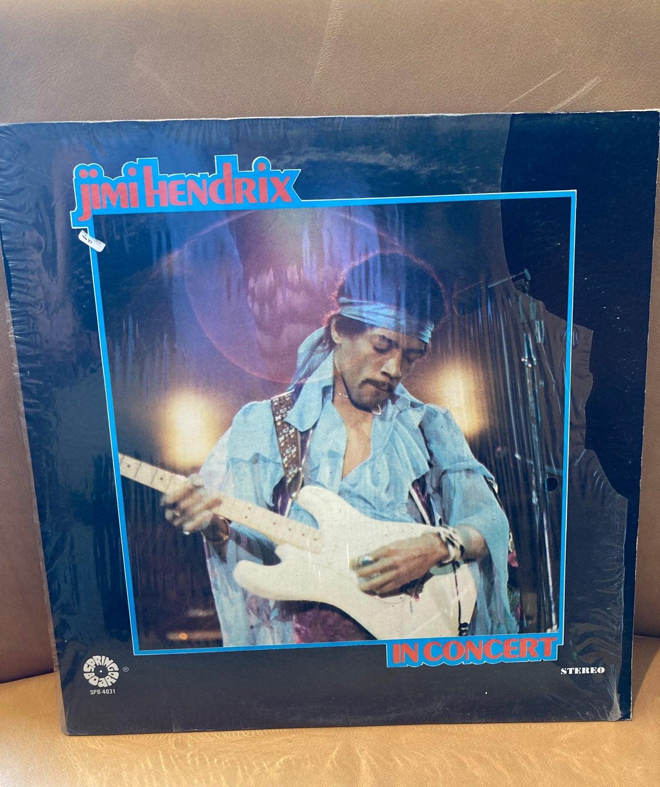 Jimi Hendrix Live in Concert (Vinyl)