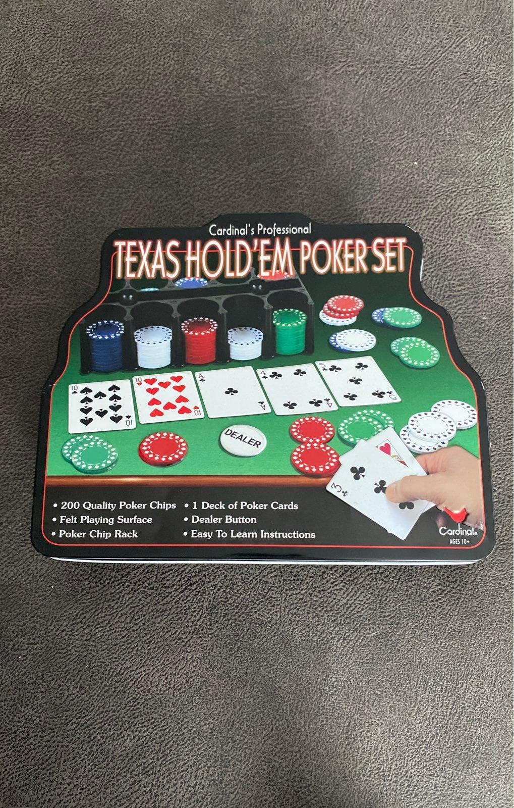 Texas Hold'em Poker Set (w/o cards)