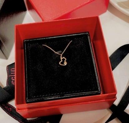 Qeelin  Diamond gourd Necklace