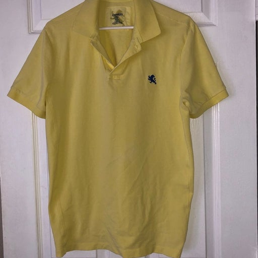 Womens Polo Shirt Yellow